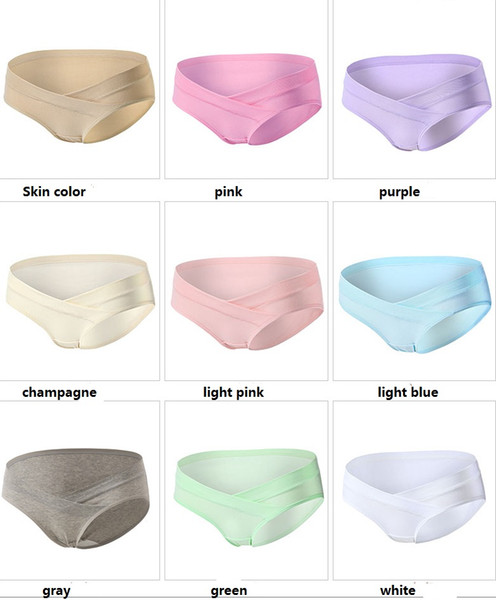 Maternity Pregnant Panties underwear wholesale Cheap Low-waist Quality Cotton spandex modal Maternity Supplies 2017 hotsale Plus size