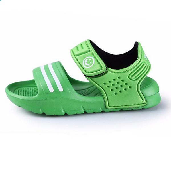 Crianças de verão 2016sandals antiderrapante resistente ao desgaste pequeno menino sandálias casuais meninas meninos sapatos criança sandálias de verão