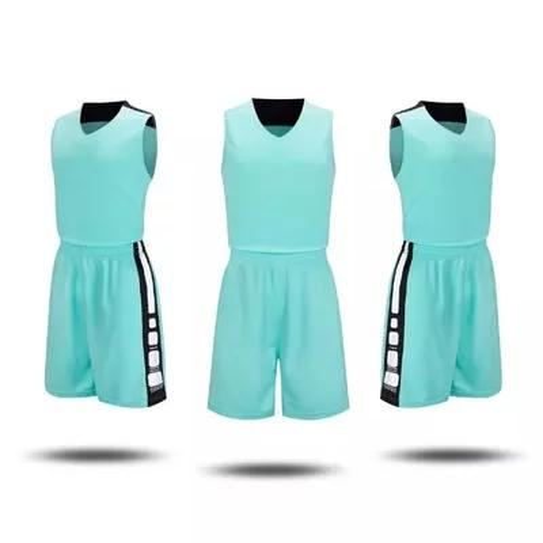 5528824f90 2017 Adultos Hombres Baloncesto Reversible Establece Uniformes kits Ropa  Deportiva de Doble Cara jerseys de baloncesto