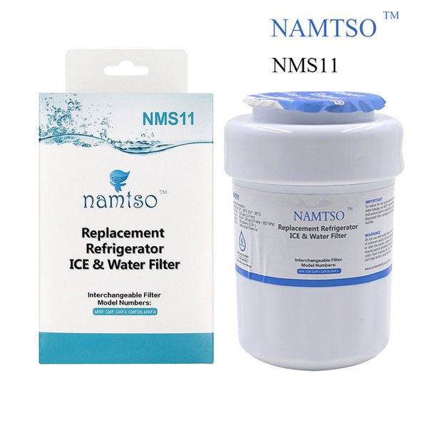 Hot Sale! Water Purifier Filter Namtso NMS11 Refrigerator Ice & Water Filter Replacement for GE MWF GWF Activated Carbon +Ultrafiltration