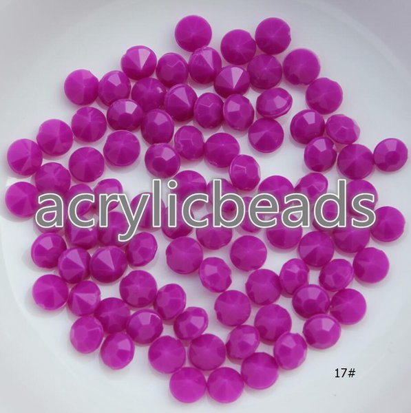 500pcs Low Price 4mm Solid Colors Faceted Fake Plastic Acrylic Diamond Gems Beads for Wedding Table Vase Scatter Filler