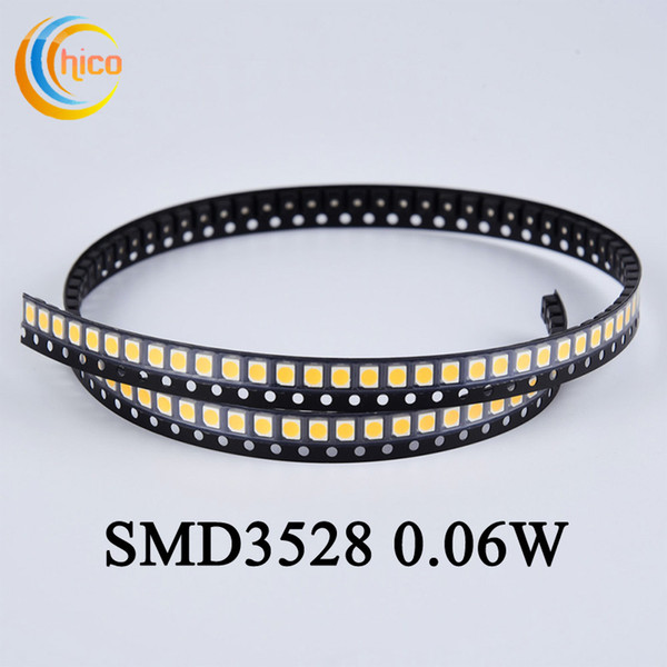 3528 SMD led diodes led chip led bead light for strip light Spotlight & Indoor Bulb Red/Yellow/Blue/Green/White/Warm white
