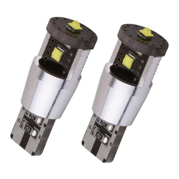 Großhandel Cree Chip 15W T10 LED Birne W5W CANBUS OBC Fehler frei Innenbeleuchtung Auto Lampe 501 Strich Auto Lichtquelle Parken 12V