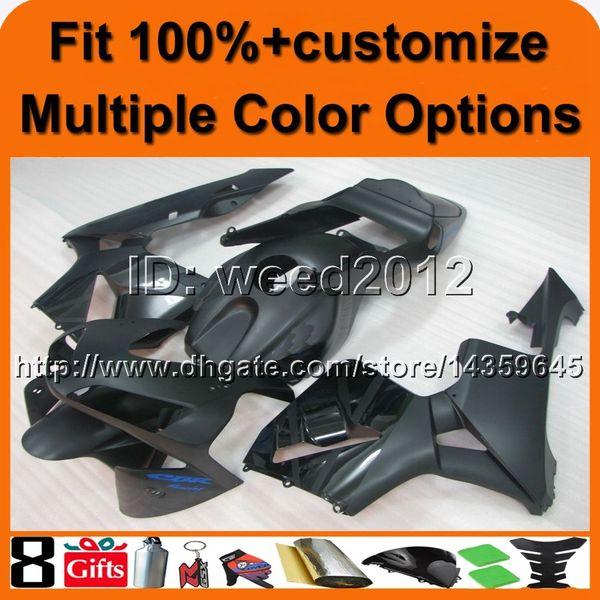 23colors + 8Gifts Spritzgegossene SCHWARZE Motorradabdeckung für HONDA CBR600RR 2003-2004 CBR 600RR 03 04 ABS Plastikverkleidung