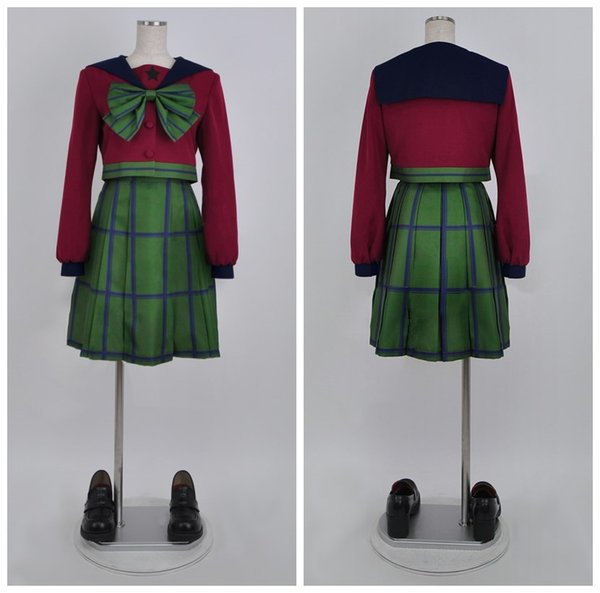 SuperS Sailor Moon Michiru Kaiou / Hotaru Tomoe Sailor Uranus mugen gakuen girls winter uniform cosplay dress halloween costumes