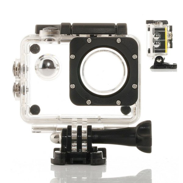 Wholesale- New Camera Protective Case Housing Diving Waterproof Case for SJ4000 Sport Camera