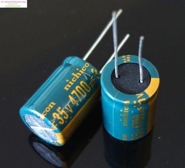 2015 реальные Прямые продажи общего назначения Multi 10 шт. Япония Nichicon Pw серии фильтр конденсатор 4700uf 35 в 18 * 25 мм Бесплатная доставка