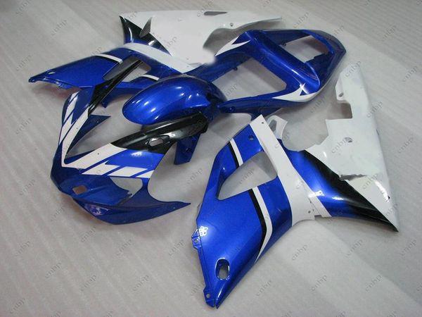 ABS Fairing for YAMAHA YZFR1 00 Fairing Kits YZFR1 2001 Blue White Full Body Kits YZF1000 R1 2000 2000 - 2001