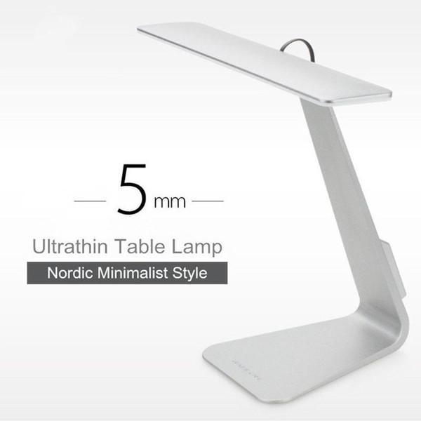 2017 Ultramince Mac Style 200LM LED 3 Mode Gradation Interrupteur Tactile Lecture Table Lampe Construit en Batterie Lampe de Bureau Lumière Douce Veilleuse