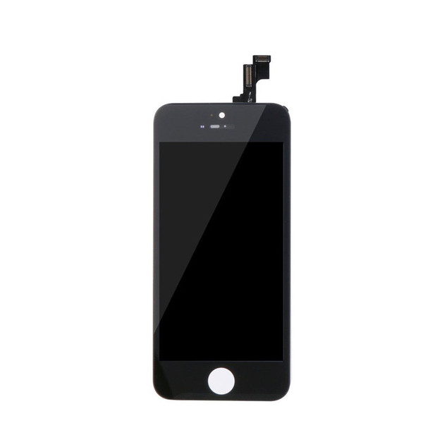 100% Tested AAA Quality For iPhone 5s LCD Display LCD Touch Screen Digitizer Assembly for iPhone5S Screen Replacement Full Set