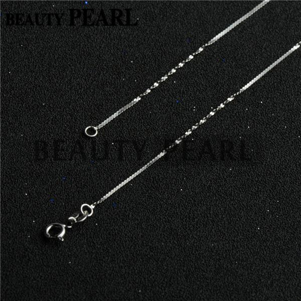 10 Pieces Wholesale Women Girl Beauty Jewellery Unique Necklace Collar 1mm 925 Sterling Silver Necklace Chains