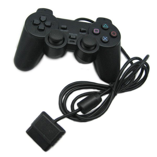 best selling PS2 Wired Controller Gamepad Manette For Playstation Dualshock 2 Joystick Controle Mando Game Controller Console