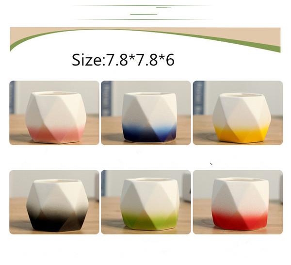 SF send 6day to USA l Gardening Flower Pots Small Mini Colorful Nursery Flower Planter Pots Garden Deco Gardening Tool
