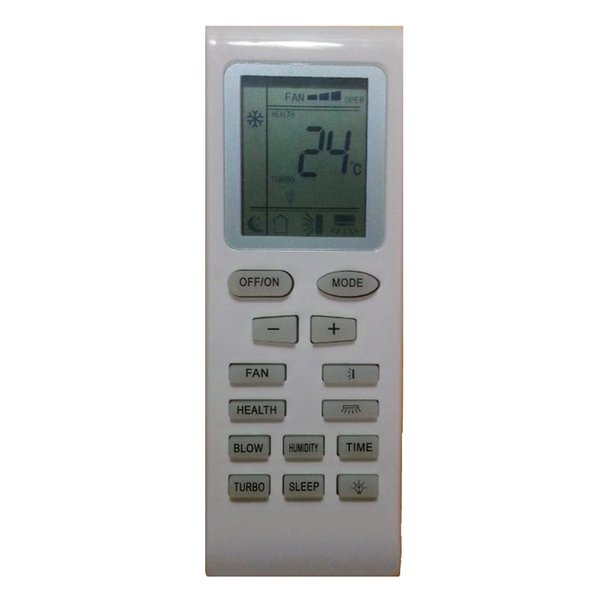 Wholesale- Replacement For GREE Mcquay LENNOX TRANE Electrolux Aermec Air Conditioner Remote Control YB1F2 YB1F YB1FA Yb1faf Yb1f2f