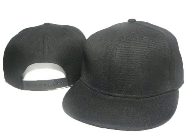 Özelleştirilmiş boş düz Snapback Snapbacks Caps Şapka Kap Şapka Erkekler kadınlar Unisex Ayarlanabilir Yüksek Kalite Ücretsiz Nakliye Tek Boyutu Caps ...