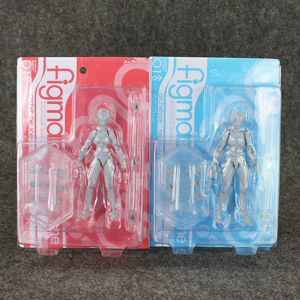2019 12 12 5cm 2 Styles Figma BODY He She Skin Color Ferrite PVC Action  Figure Figma Figure Ornaments EMS From Emma88, $11 61 | DHgate Com