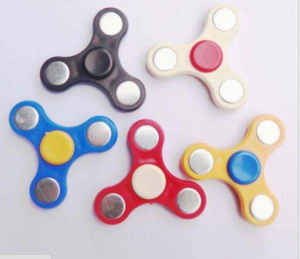 top popular 200pcs HandSpinner Fingertips Spiral Fingers Fidget Spinner EDC Hand Spinner Acrylic Plastic Fidgets Toys Gyro Toys With opp bag 2019