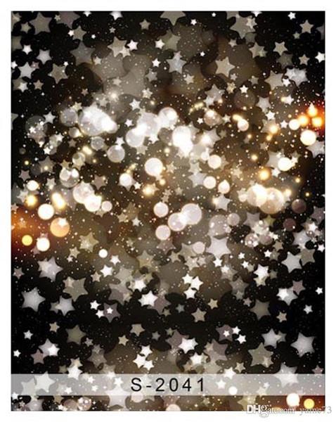 Fondo del fondo dello studio di fotografia del cielo stellato del bambino della ragazza dei bambini del vinile di 5x7ft