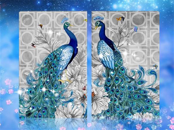 2020 Diy 5d Round Diamond Painting Kit Embroidery Animal