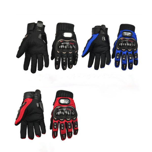 2016 Hot Sale Fashion Professional Full Finger Gear Protective Motorcycle Motocross Racing Gloves Outdoor Sports Gloves