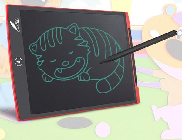Großhandel-8,5 Zoll LCD Digital schreiben Zeichnung Tablet Bord elektronische kleine Tafel papierlose Büro Schreibtafel mit Stylus Stifte