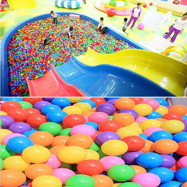 5.5CM Baby Children Growing Ocean Ball Giocattoli Divertimento in acqua Gioco di sabbia Perline con palline Gel Jelly Multi Color Natale Decorazioni per feste di nozze WX9-1580