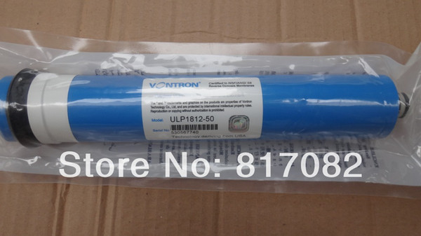 best selling On Sale Vontron 50gpd Reverse Osmosis Membrane ULP1812-50 Water Purifier for Drinking