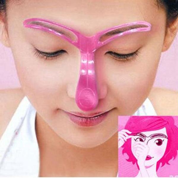 Eyebrow Shaping Stencils Eye Brow Guide Plastic Template Kit ...