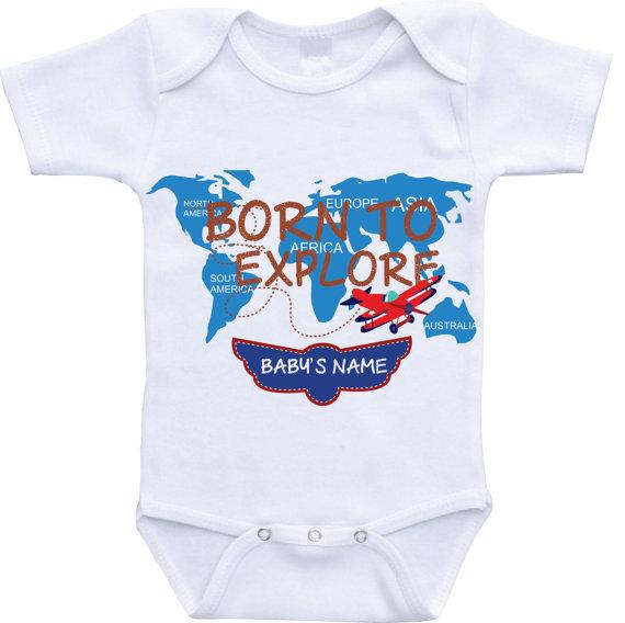 Airplane onesie personalized onesie babyshower gift newborn take airplane onesie personalized onesie babyshower gift newborn take home outfit baby boy coming home outfit newborn negle Images