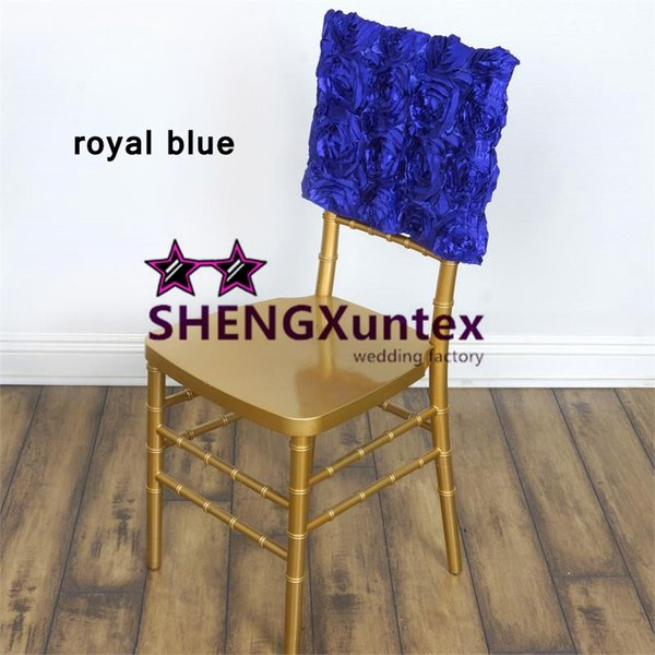 Fine New Design Satin Rosette Chair Cap Hood Chiavari Chair Cover Slip Cover Couch Cheap Chair Cover Rentals From Searchtextile 102 26 Dhgate Com Ibusinesslaw Wood Chair Design Ideas Ibusinesslaworg