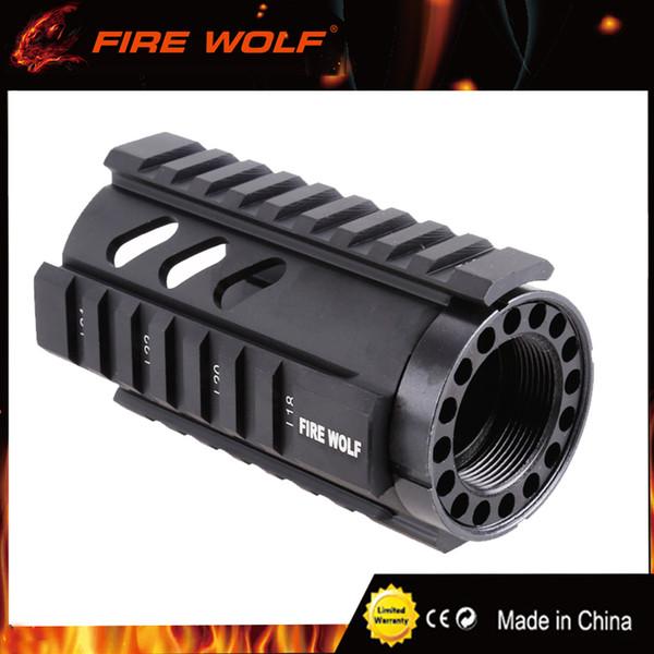 FIRE WOLF Taktische T-Serie 4 '' Free Float Quad Rail Handschutz AR Rail System RIS Handschutz Für .223 / 5,56 mm M4