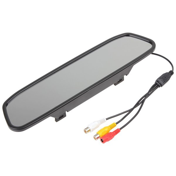 Factory direct sales 4.3 inch rearview mirror display, bundled reversing car rearview mirror display LCD display