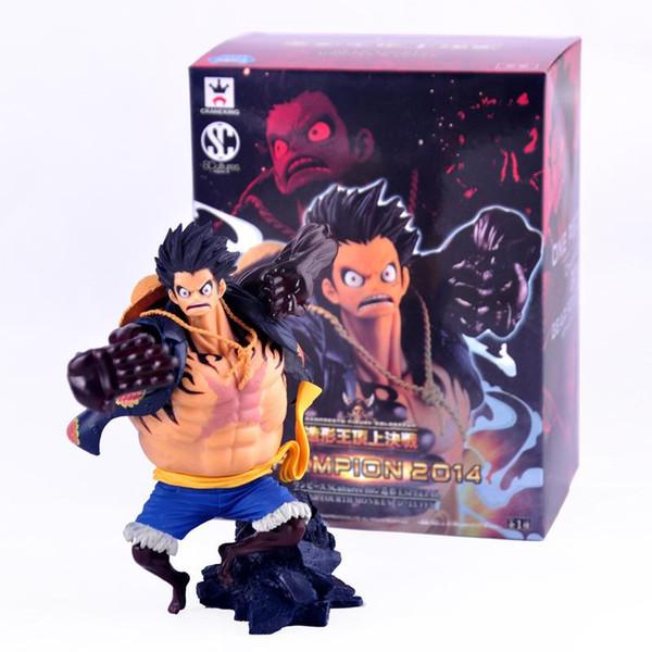 Игрушки аниме One Piece четвертая передача обезьяна D Луффи ПВХ фигурку коллекция модель игрушки с коробкой Бесплатная доставка