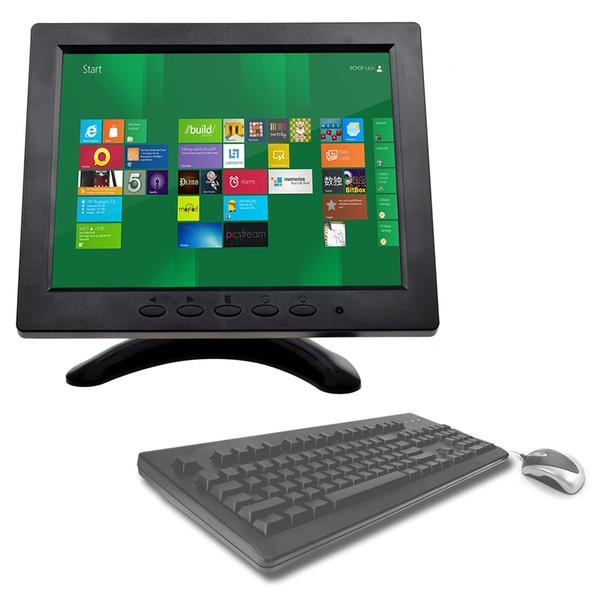 8 zoll 1024 * 768 TFT LCD Farbmonitor Bildschirm Video BNC HDMI AV VGA Eingang für PC Sicherheit Cam CCTV DVR System