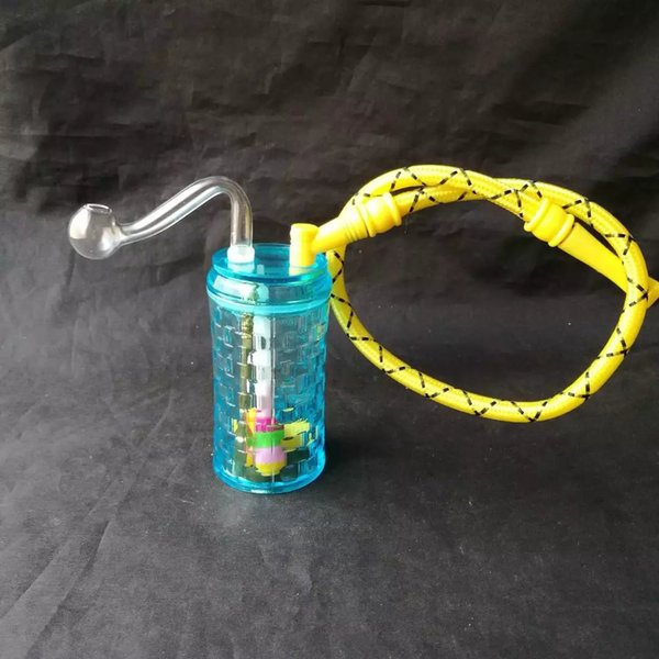 Acrylic color box hookah accessories to send