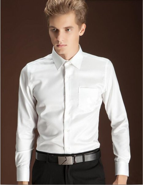 2019 authentic shop for variety of designs and colors 2019 The New Style Men Shirt Custom Made Men Wedding Shirt White Good  Quality Men Formal Business Shirt Long Sleeve From Antu186, $38.58 |  DHgate.Com