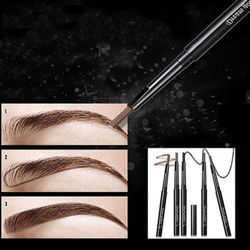 Vente en gros - 2016 Top qualité 1 Pc rotatif eyeliner imperméable sourcils oeil sourcils crayon maquillage maquillage stylo 8AWW