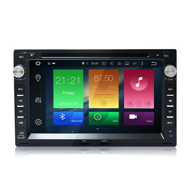"""7"""" Touch Screen 2G RAM 8 Core Android 6.0 Auto Stereo GPS For Volkswagen Passat B5 Golf 4 Polo Jetta Sharran Radio WIFI 4G Car DVD Player"""