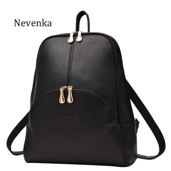 Women Backpack Leather Backpacks Softback Bags Brand Name Bag Preppy Style Bag Casual Backpacks Teenagers Backpack Sac
