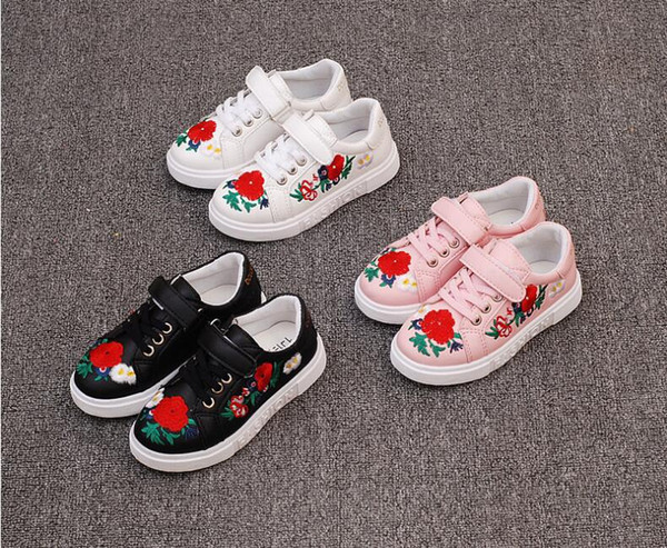 New Girls Shoes Fashion Children Glowing Shoes Princess Bow Girls Led Shoes Spring Autumn Cute Baby Sne Skechers Casual Shoes Girls Shoes Online