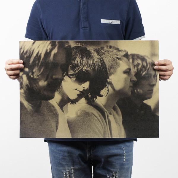 Arctic Monkey / Rock Poster / Kraftpapier Bar Dekorative Malerei 51x35,5 cm / 150g Retro Papier / Hohe Qualität