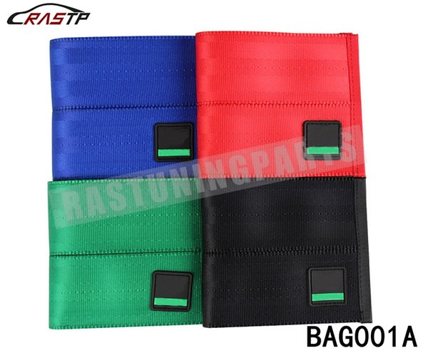 best selling RASTP - Wholesale JDM Style Harveys Racing Wallet Bride Fabric Unique Inside Money Purse Black Blue Green Red RS-BAG001A