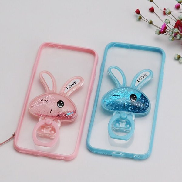 Cell Phone Cases For iPhone 7 Plus 6 6S and Samsung S5 S6 Ultra Thin Crystal Transparent Soft TPU Silicone Cover+Retail box