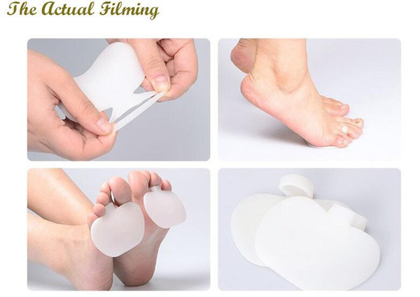 50pair=100pcs Applies High-heeled shoes Apple Shape Forefoot care Metatarsal Ball of Foot Pads Orthotics Insoles Relieve former palm support