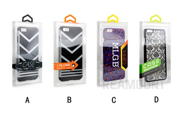 100 piezas de embalaje personalizado para la caja del teléfono móvil para iPhone Xs max Xr Xs 7 8 Plus Coque caja de embalaje con percha