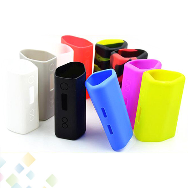Snowwolf 218 Box Mod Proect Case Soft Silicone Rubber Carry Bag Cover for Snow wolf 218W TC Mods Colorful Protective Skin DHL Free