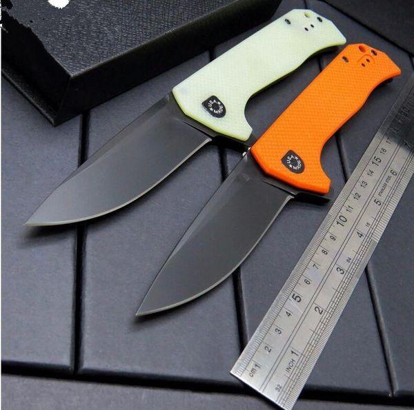 ZT Zero Tolerance 0804 ZT0804 3 Farben orange schwarzes Jadeflossenmesser G10 Griff faltendes Messer 1pcs Freeshipping