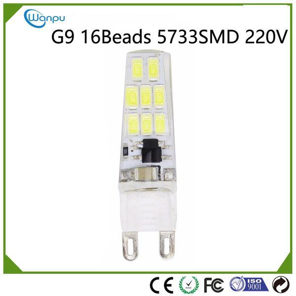 LED Lamp Corn Light SMD5733 3W G9 COB LED Bulb Light 220V Chandelier Spotlight Replace Halogen LED Lamp