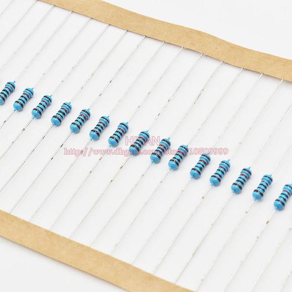 1000pcs/set 9.1K 9.6K 10K 12K 15K 18K 20K 22K 24K 27K ohm ohms 1/4W Watt 0.25W 1% Metal Film Resistor Resistors