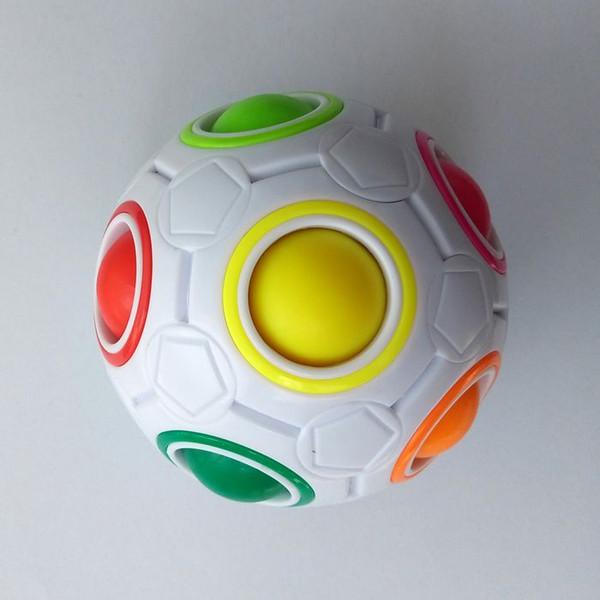 Grosshandel Magic Ball Kreative Regenbogen Fussball Mini Fur Stressabbau Zappeln Anti Angst Stress Kinder Geschenk Von Sixin Toy 1 95 Auf